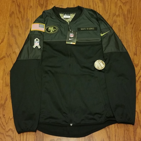 the best attitude 08b20 ecda0 San Francisco 49ers Salute to Service Jacket NWT